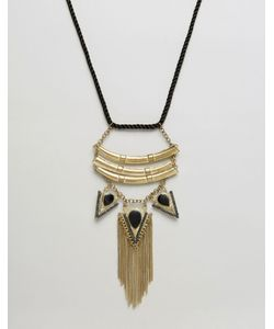 Raga | Ожерелье С Подвесками-Стрелами И Бахромой