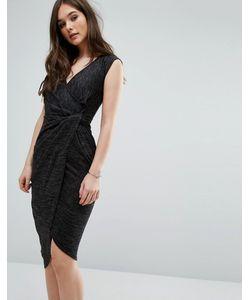Wal G | Asymmetric Midi Dress