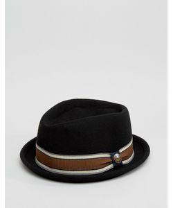 Goorin   Черная Шляпа Jeffrey Pork Pie