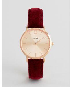 Cluse | Часы С Вельветовым Ремешком Cl30042