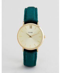 Cluse | Часы С Бархатным Ремешком Minuit Cl30040