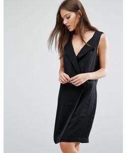 Selected | Строгое Платье С V-Образным Вырезом Femme Lina
