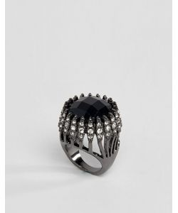 Asos | Броское Кольцо С Крупным Камнем