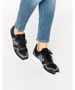 New Balance | Черные Кроссовки Из Микросеточки 420