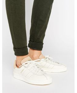 Adidas | Кремовые Кожаные Кроссовки С Замшевой Отделкой Originals Topanga Unisex