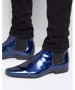 Asos | Лакированные Ботинки Челси