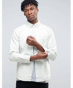 Hoxton Denim | Выбеленная Джинсовая Рубашка Hoxton