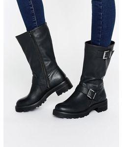 Head Over Heels | Байкерские Ботинки С Пряжками By Dune Ria