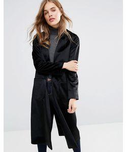 Helene Berman | Черное Классическое Пальто Tessa