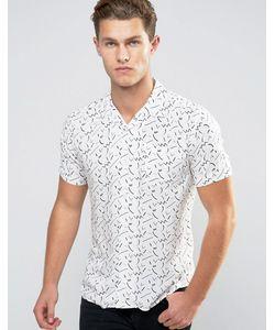 Bellfield | Рубашка С Короткими Рукавами И Геометрическим Принтом