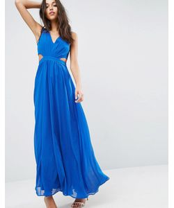 Asos | Платье Макси С Вырезами По Бокам