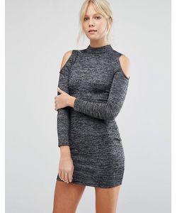 Parisian | Облегающее Платье С Открытыми Плечами