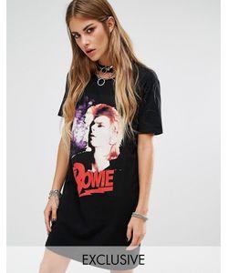 Reclaimed Vintage | Платье-Футболка С Принтом Bowie