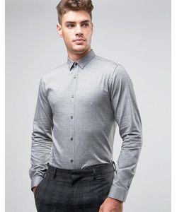 Jack & Jones | Узкая Рубашка С Начесом Premium
