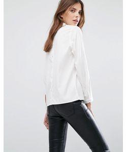 Selected | Рубашка С Пуговицами На Спине Femme