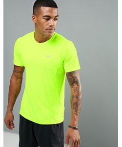 Nike Running | Nike Dri-Fit Miler T-Shirt In 683527-702
