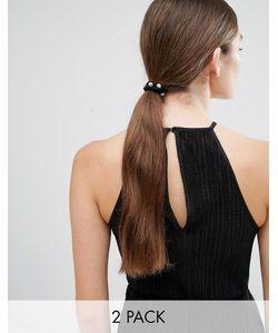 Cara Jewellery | Набор Из 2 Резинок Для Волос Со Стразами Cara Ny