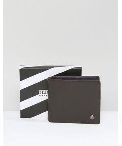 Feraud | Кожаный Бумажник С Контрастной Внутренней Отделкой