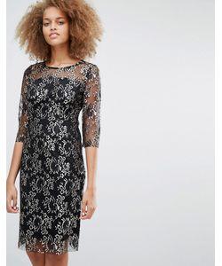 Selected | Кружевное Платье Миди Brina
