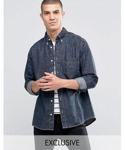 Brooklyn Supply Co. | Черная Выбеленная Рубашка С Потертым Эффектом Brooklyn Supply Co