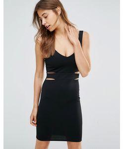 Oh My Love | Облегающее Платье Мини С Вырезами