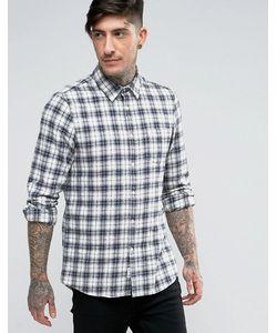 Jack Wills | Фланелевая Рубашка В Клетку Классического Кроя Salcombe