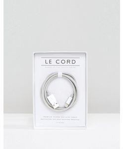 LE CORD   Usb-Кабель Для Iphone Серебристого Цвета