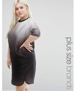 Elvi | Платье Размера Плюс С Эффектом Деграде