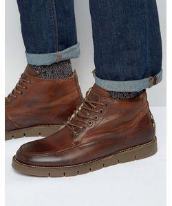 Jack & Jones   Кожаные Ботинки На Теплой Подкладке Kingston