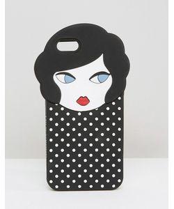 Lulu Guinness   Чехол Для Iphone 6 С Отделкой В Виде Головы Куклы Lulu