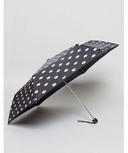 Lulu Guinness   Ультракомпактный Зонт С Принтом Губ