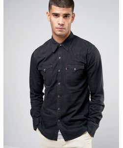 Levi's® | Черная Выбеленная Рубашка В Стиле Вестерн Levis Barstow
