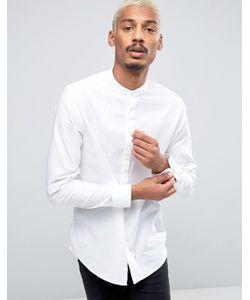 Selected Homme | Рубашка Узкого Кроя С Воротником С Застежкой На Пуговицы И Длинными