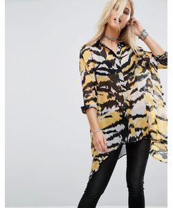 Religion | Рубашка С Тигриным Принтом