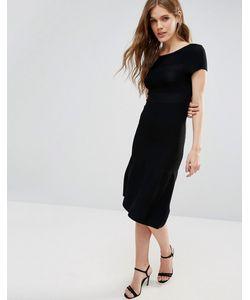 Y.A.S. | Платье Макси С Заниженной Талией Y.A.S Marcella