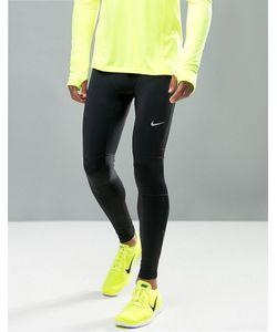 Nike Running | Черные Леггинсы Для Бега Nike Essential 644256-011