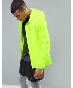 Nike Running | Желтая Спортивная Куртка Sheild Hd 800492-702