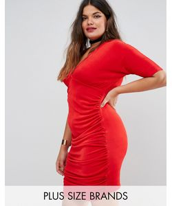 Missguided Plus | Ruched Bodycon Dress