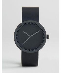 LEFF AMSTERDAM | Часы С Черным Кожаным Ремешком D-Series 38 Мм