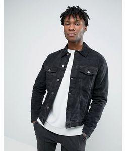 Hoxton Denim | Джинсовая Куртка С Камуфляжным Принтом