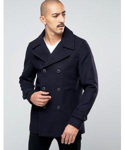 Stanley Adams | Пальто-Бушлат С Высоким Содержанием Шерсти