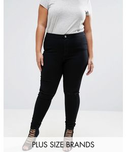 Missguided Plus | Skinny Jegging With Busted Knee