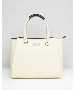 Pauls Boutique   Simple Tote Bag In Cream