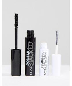 NYX | Тушь Для Ресниц Professional Make-Up Double Stacked