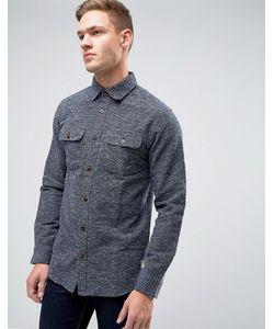 Jack & Jones | Плотная Фактурная Рубашка Классического Кроя Vintage