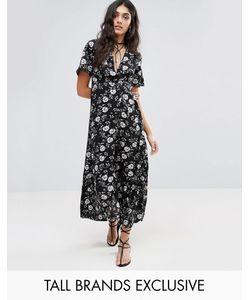Glamorous Tall | Платье Макси С Цветочным Принтом