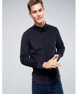 Selected Homme | Вельветовая Узкая Рубашка С Длинными Рукавами