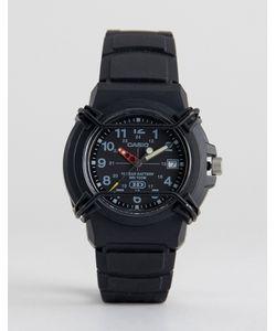 Casio | Аналоговые Черные Часы Had-600b-1bvef Neobrite