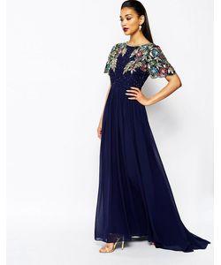 Virgos Lounge | Декорированное Платье Макси С Пышной Юбкой Ariann