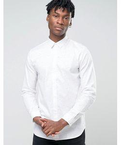 Jack & Jones | Рубашка Узкого Кроя В Крапинку Premium